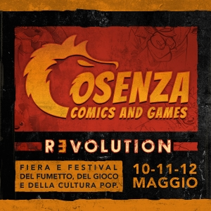 Cosenza Comics and Games 2019: Revolution!